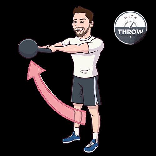 Exercise Kettlebell Figure Eight: Kettlebell Workout #2